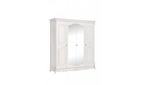 Adel шкаф 4-х дверный 2 зеркала